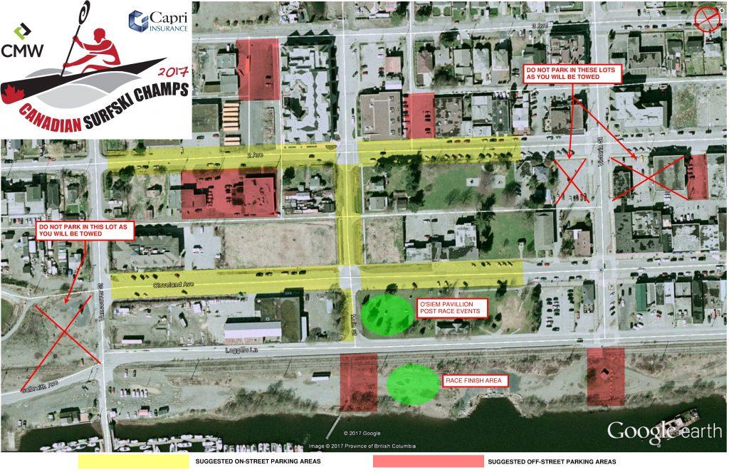 Squamish Parking Map